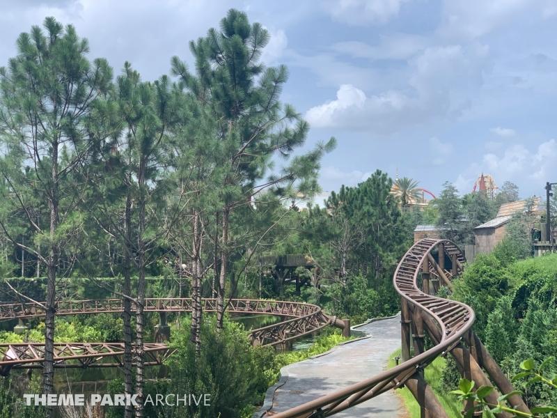 Hagrid's Magical Creatures Motorbike Adventure at Universal Islands of Adventure