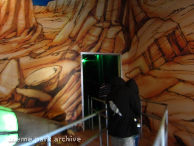 Green Lantern: First Flight at Six Flags Magic Mountain