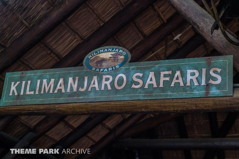 Kilimanjaro Safaris at Disney's Animal Kingdom