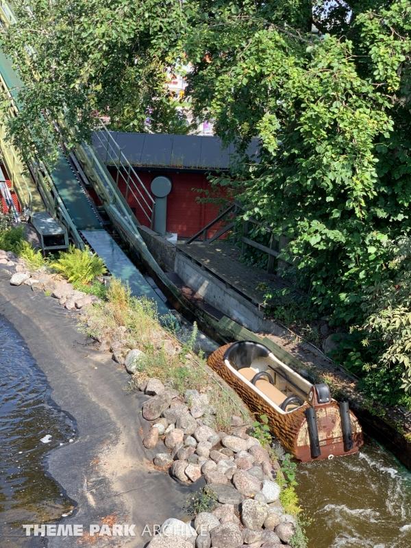 Tukkijoki at Sarkanniemi