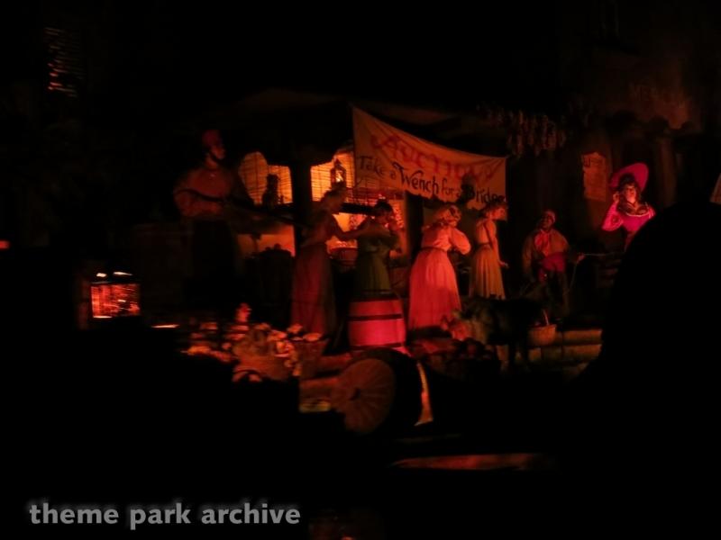 Pirates of the Caribbean at Disneyland