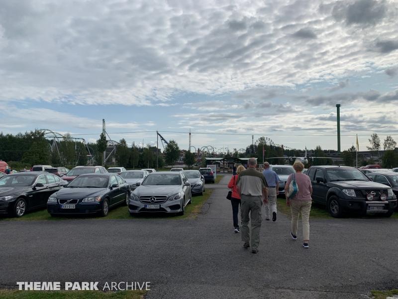Parking at PowerPark