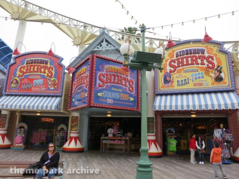 Games of the Boardwalk at Disney California Adventure