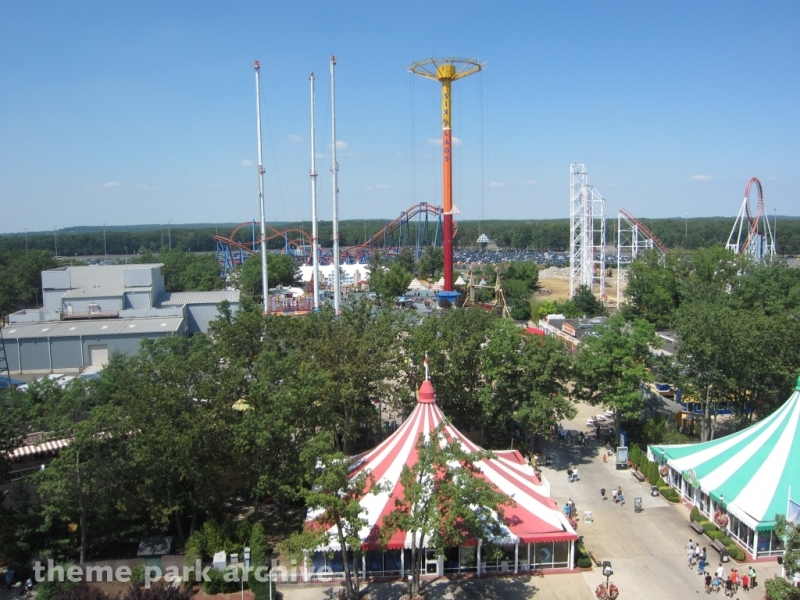 Parachuter's Perch at Six Flags Great Adventure