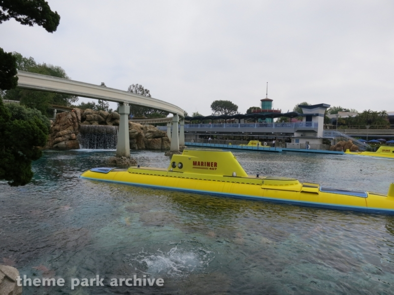 Finding Nemo Submarine Voyage at Disneyland