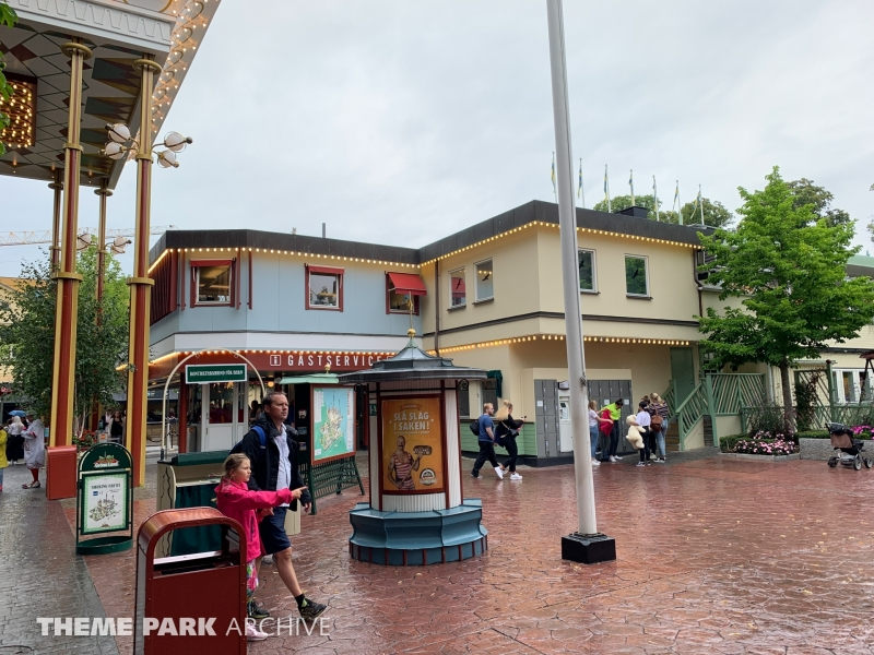 Entrance at Grona Lund
