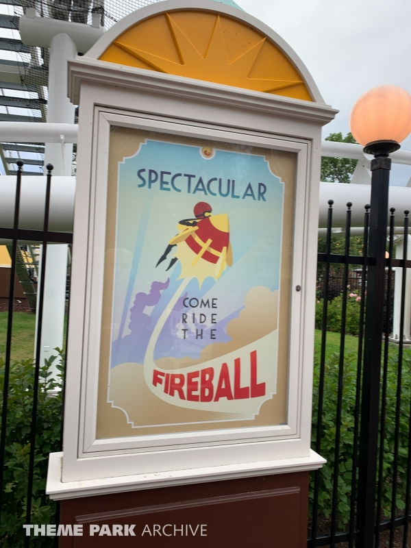 Fireball at Furuvik