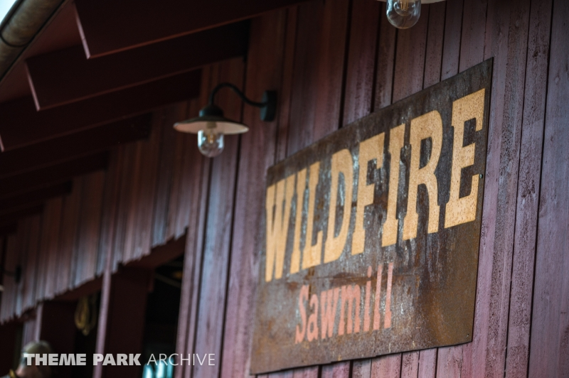 Wildfire at Kolmarden