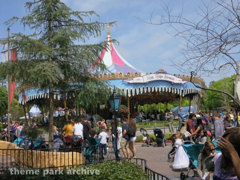 King Arthur Carousel at Disneyland