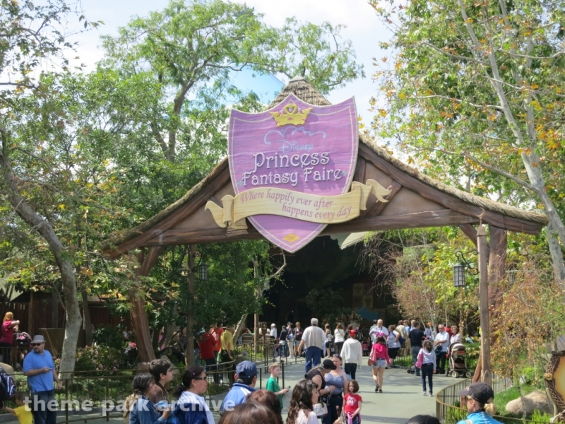 Princess Fantasy Faire at Disneyland