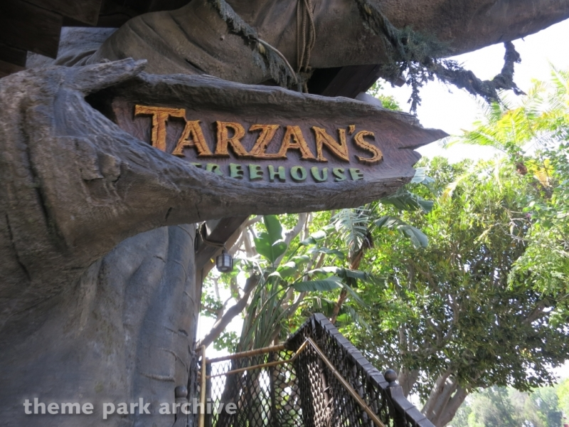 Tarzan's Treehouse at Disneyland