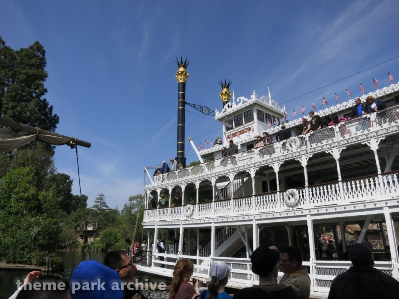 Mark Twain Riverboat at Disneyland
