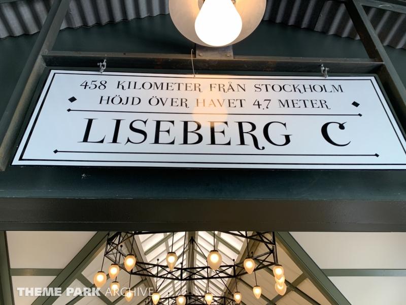 Lisebergbanan at Liseberg