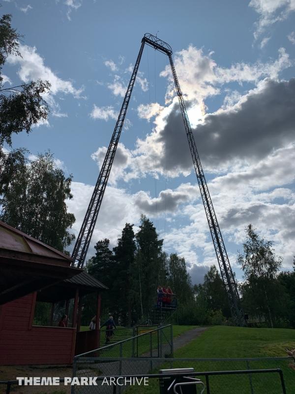 SkyCoaster at Tusenfryd
