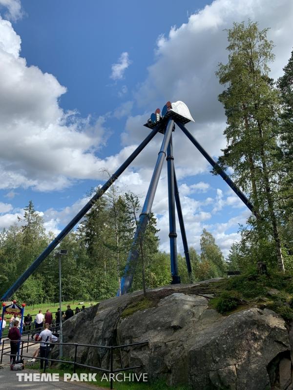 SpinSpider at Tusenfryd