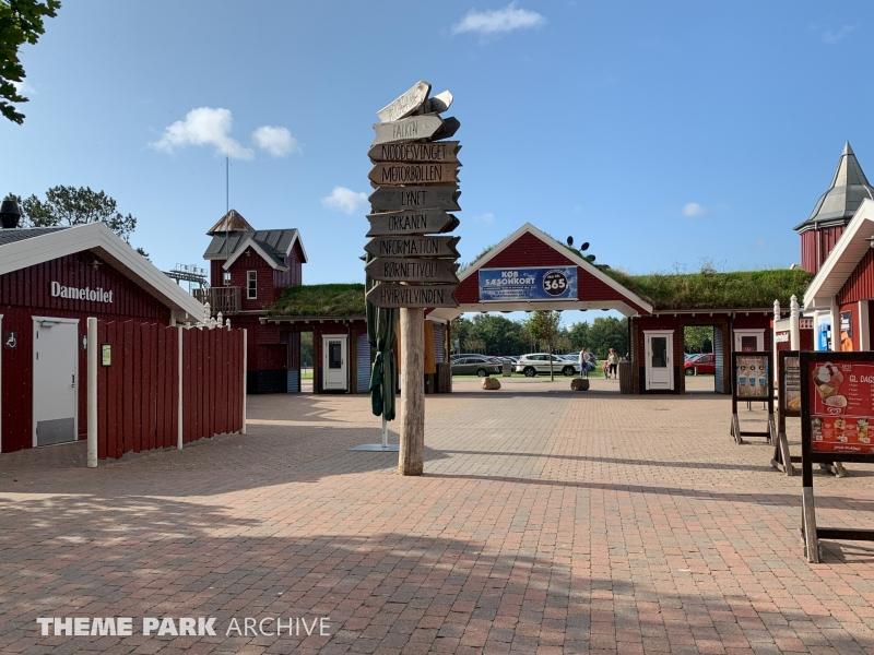 Entrance at Farup Sommerland