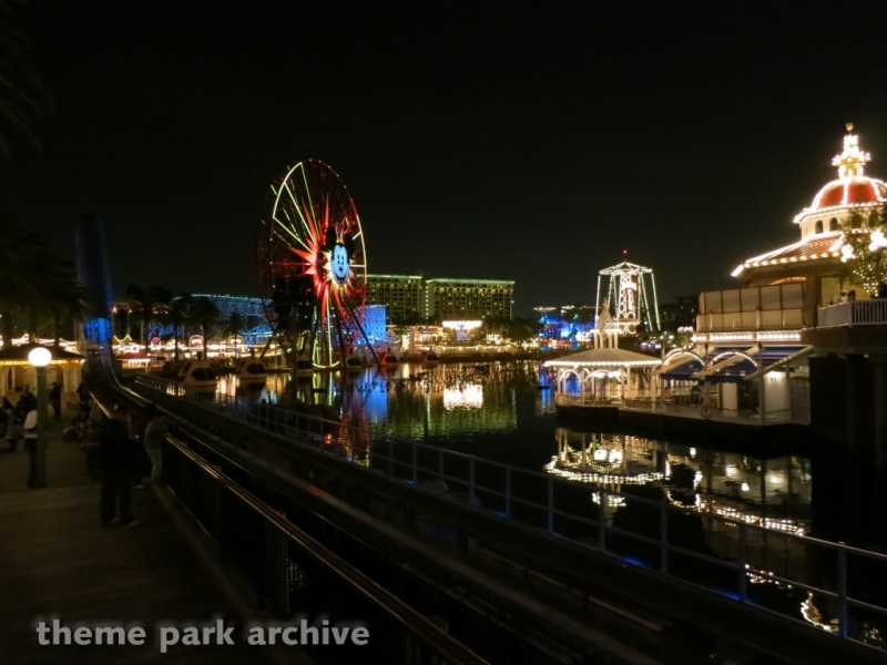 Paradise Pier at Disney California Adventure