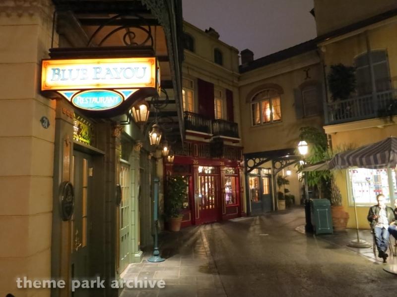 Blue Bayou Restaurant at Disneyland