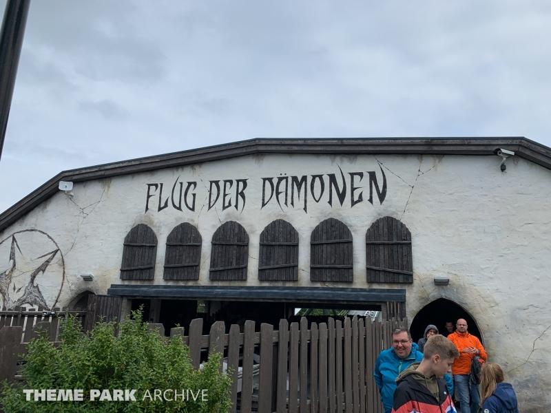 Flug Der Damonen at Heide Park