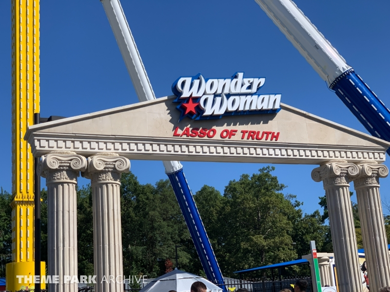 Wonder Woman Lasso of Truth at Six Flags Great Adventure