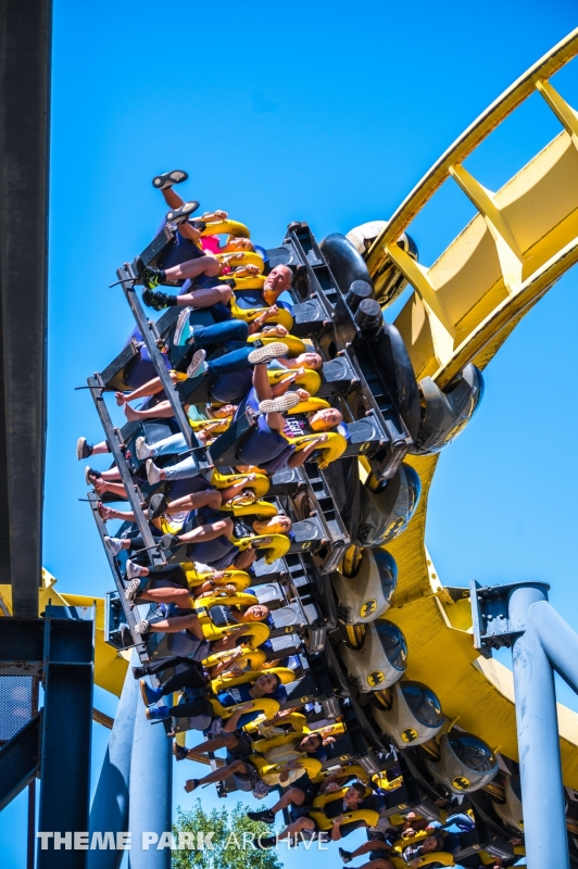Batman The Ride at Six Flags Great Adventure