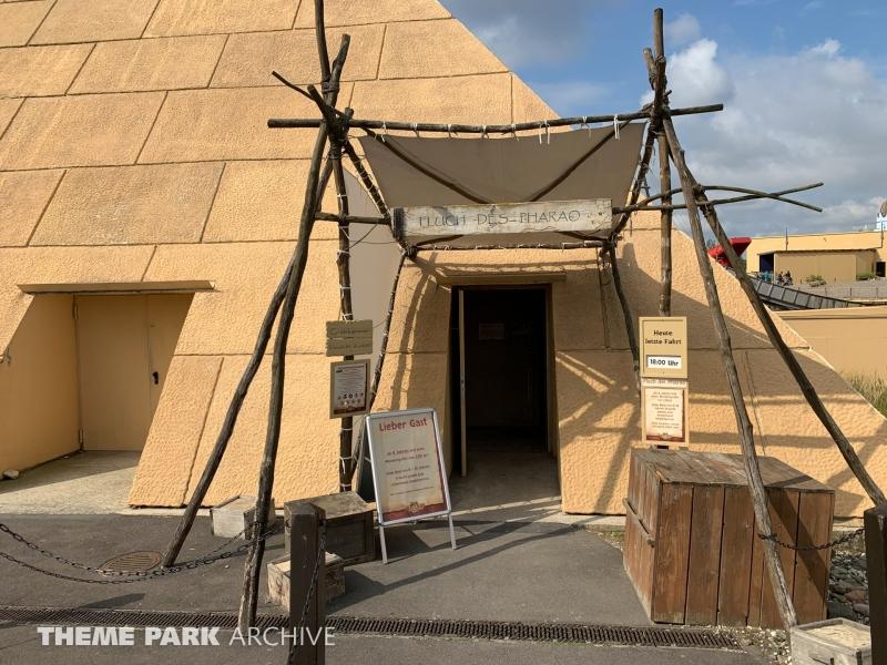 Fluch des Pharao at Belantis