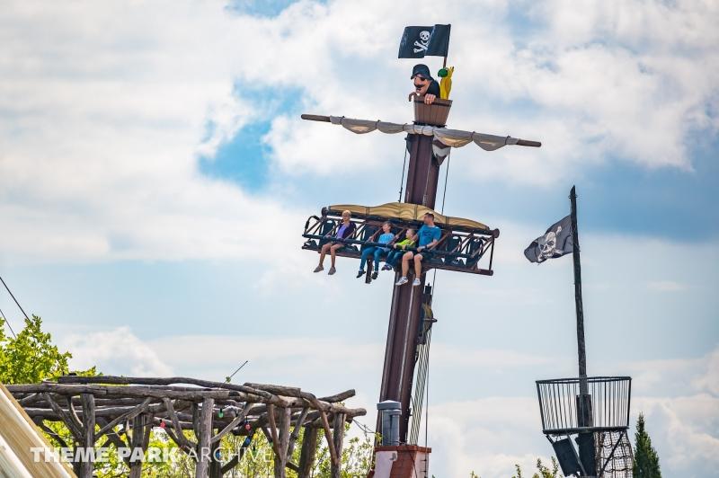 Capt'n Black's Piratentaufe at Belantis