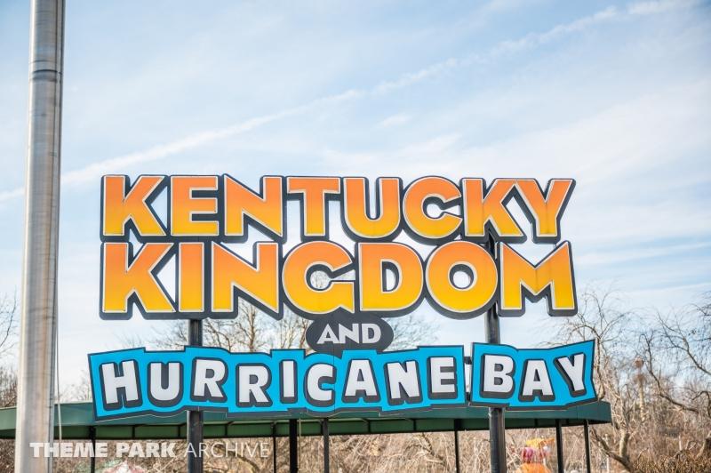 Entrance at Kentucky Kingdom