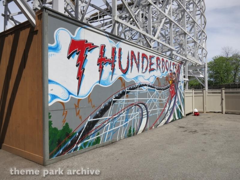 Thunderbolt at Kennywood