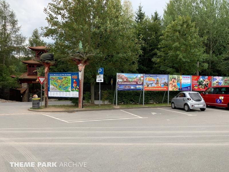 Parking at Freizeitpark Plohn