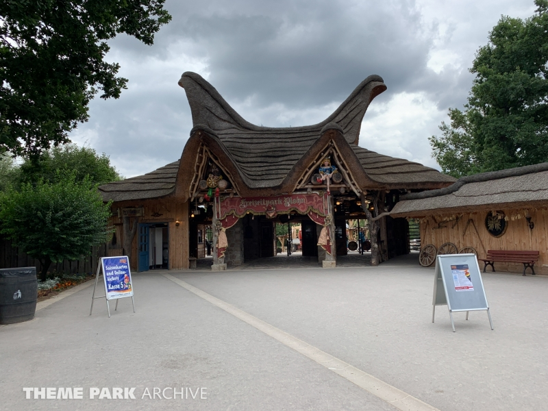Entrance at Freizeitpark Plohn