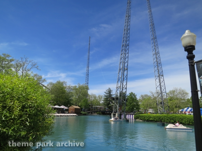 Paddle Boats at Kennywood