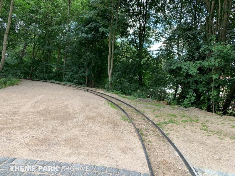 Westerneisenbahn at Freizeitpark Plohn