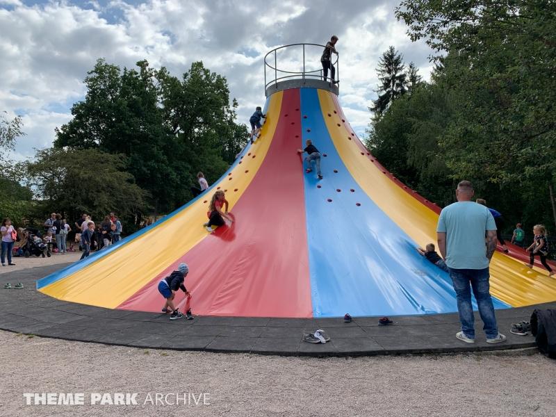 Kletterberg at Freizeitpark Plohn