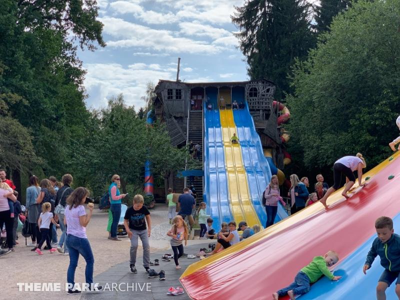 Rutschbahn Wilde Sau at Freizeitpark Plohn