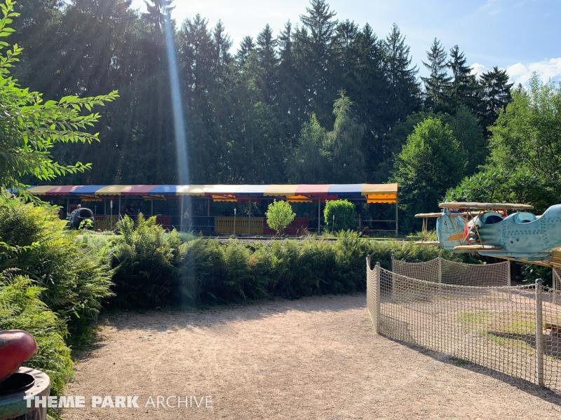 Red Baron Karussell at Freizeitpark Plohn