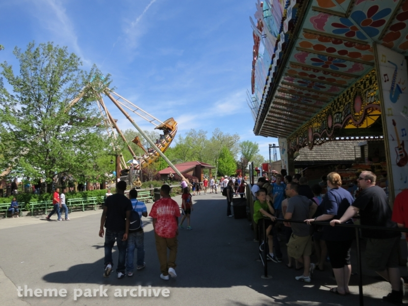 Musik Express at Kennywood