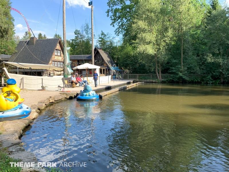 Funny Boats at Freizeitpark Plohn