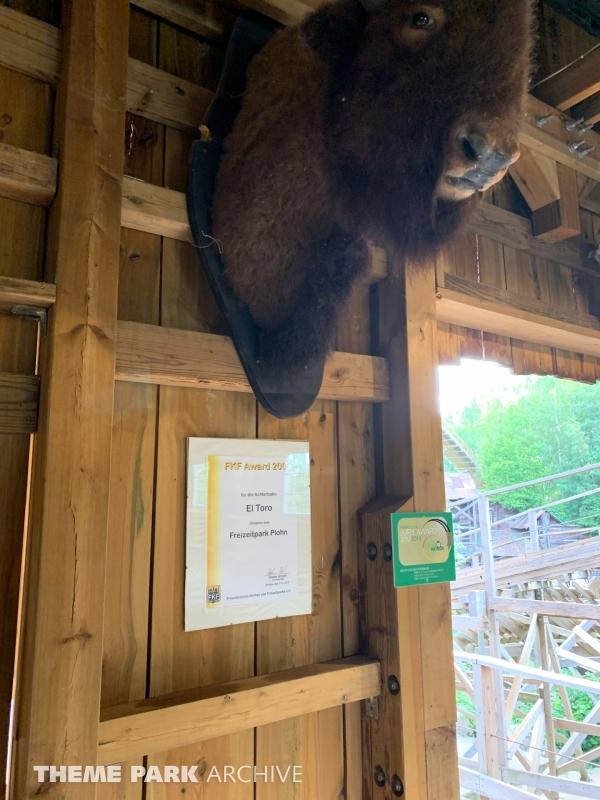 El Toro at Freizeitpark Plohn