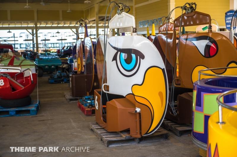 Lake Erie Eagles at Cedar Point