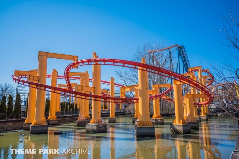 Iron Dragon at Cedar Point