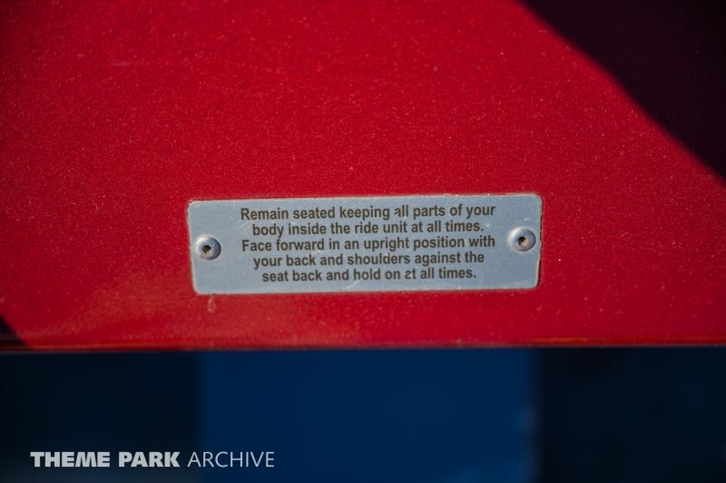 Top Thrill Dragster at Cedar Point
