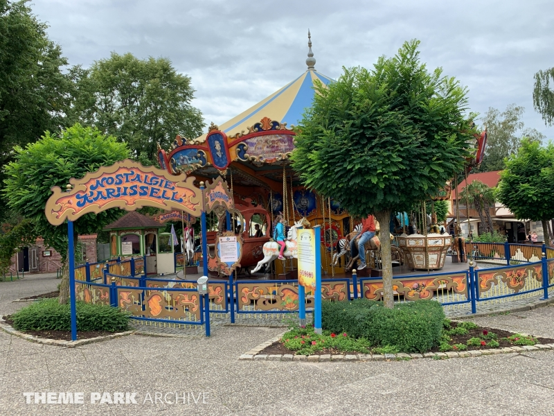 Nostalgie Karussell at Freizeit Land Geiselwind