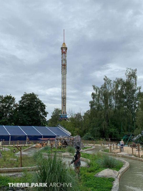 Volcano Tower at Freizeit Land Geiselwind