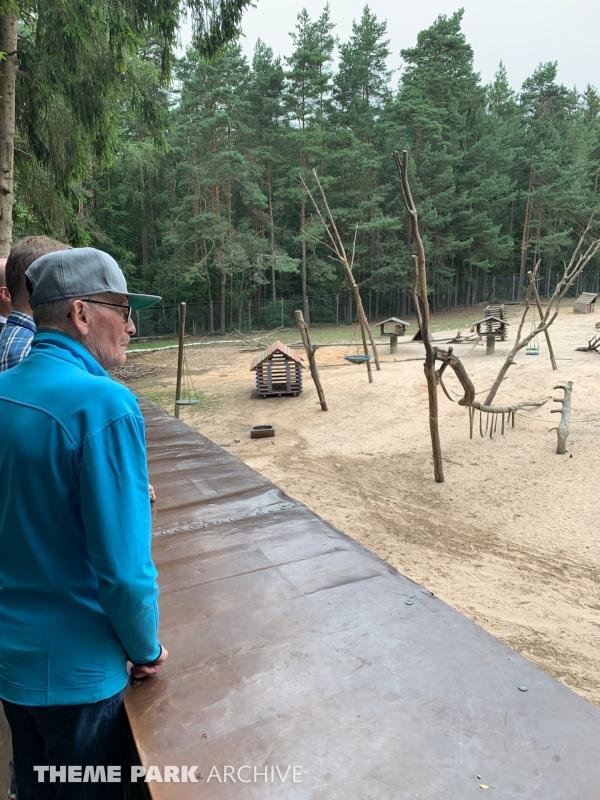 Affenreservat at Freizeit Land Geiselwind