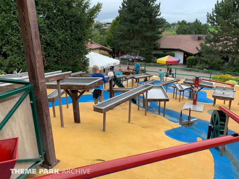 Wasserspielplatz at Schwaben Park