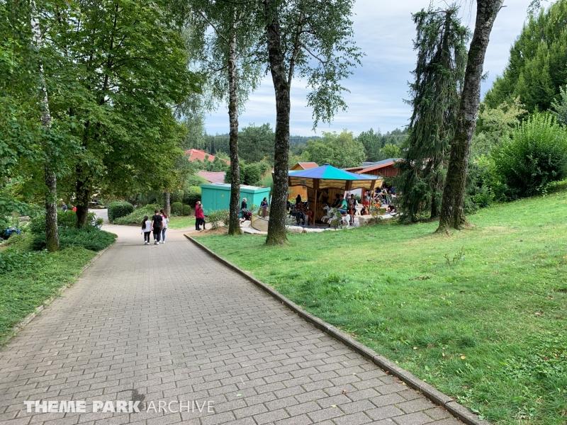 Pferdekarussell at Schwaben Park