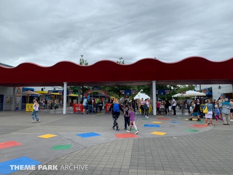 Entrance at LEGOLAND Deutschland