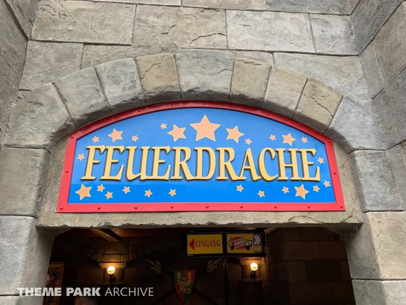 Feuerdrache at LEGOLAND Deutschland