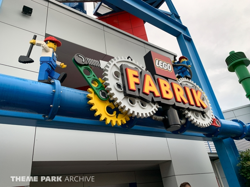 LEGO Factory Tour at LEGOLAND Deutschland